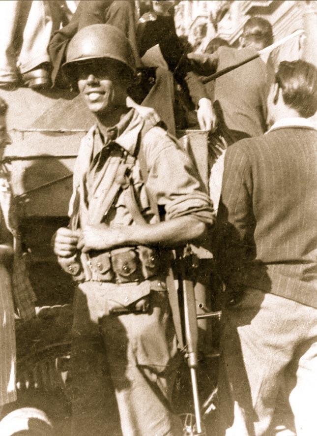 'Manuel Lozano', Hôtel de Ville, 24 August 1944